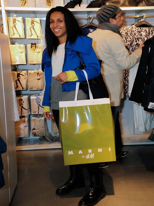 Street Style: Marni at H&M