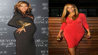Bye-Bye, Baby Bump: Celeb Moms Before and After Birth
