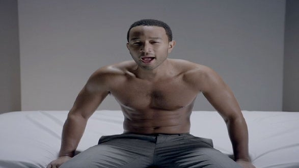 John Legend Goes Shirtless in Steamy New Video for 'Think Like a Man' Soundtrack