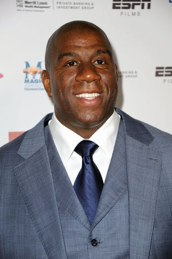 Magic Johnson on Son's Coming Out: 'I'm Behind Him a Million Percent'