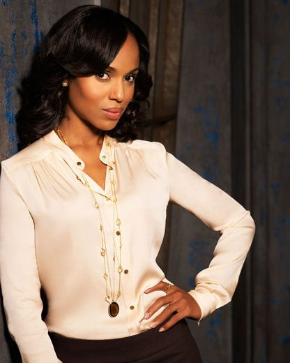 """First Look: Exclusive Photos of """"Scandal"""" Starring Kerry Washington"""