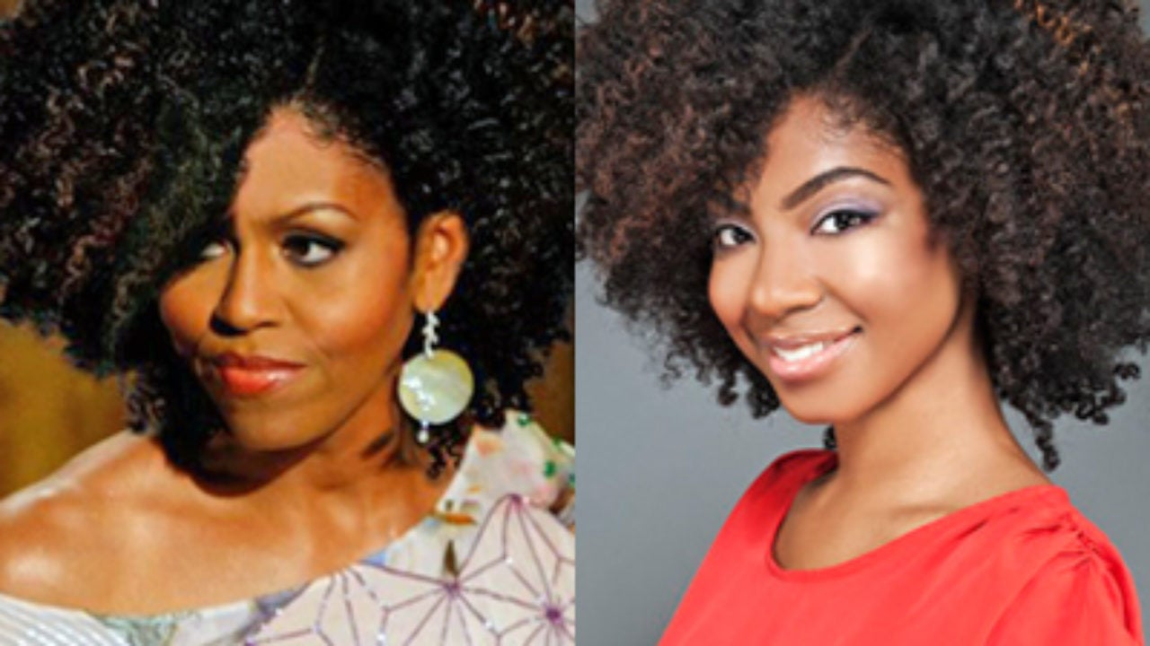 First Lady Michelle Obama Wears Natural Hair in Photoshopped Image