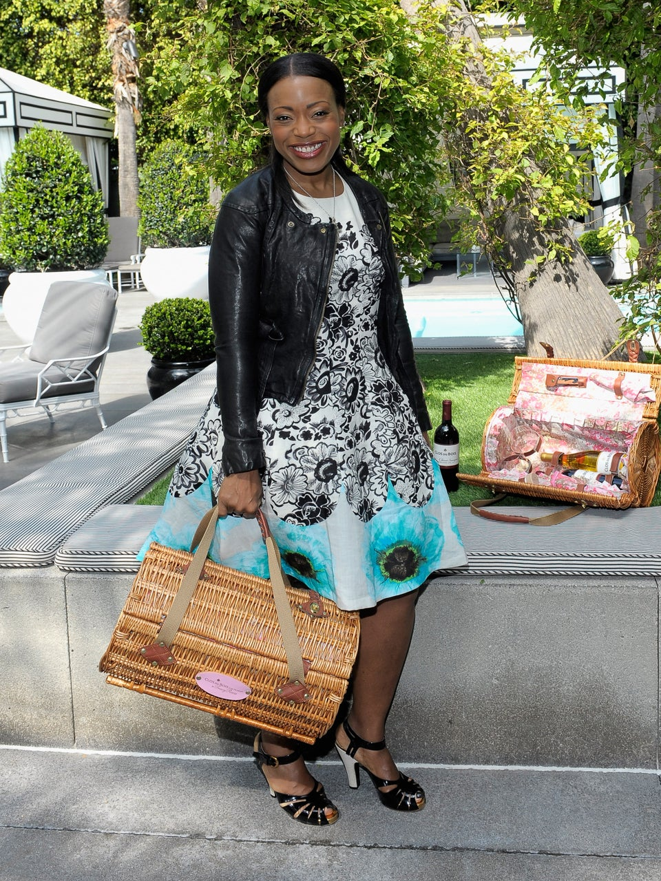 Tracy Reese's Chic Picnic Basket