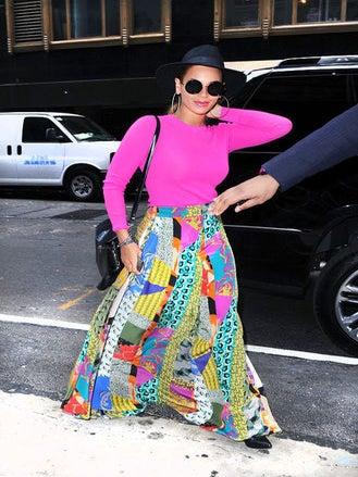 What She Wore: Beyoncé Goes Boho