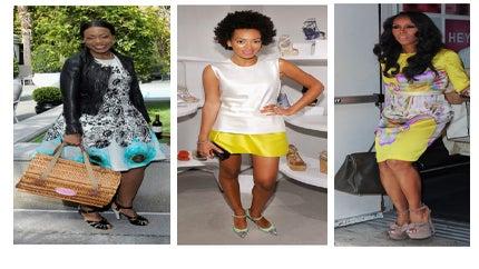 Celeb Style: Fashionable Easter Frocks