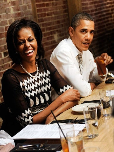 Coffee Talk: The President and First Lady Dish on their First Date