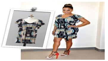 Get The Look: LaLa Anthony's K-Mart Dress