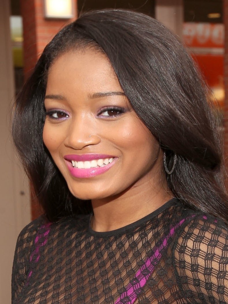 Beauty Look of the Day: KeKe Palmer's Pink and Purple Makeup