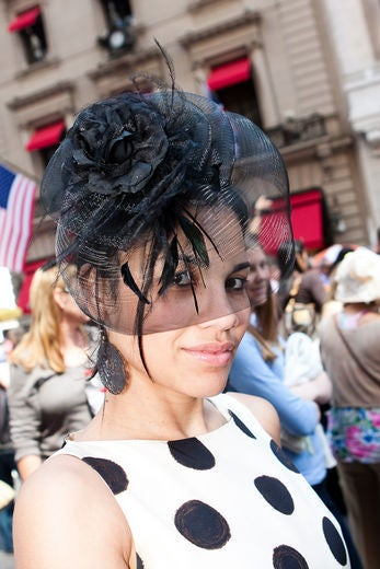 Street Style: Top Hats at NYC Easter Parade