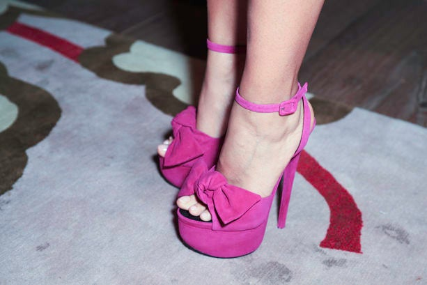 Accessories Street Style: Pretty Peep Toes