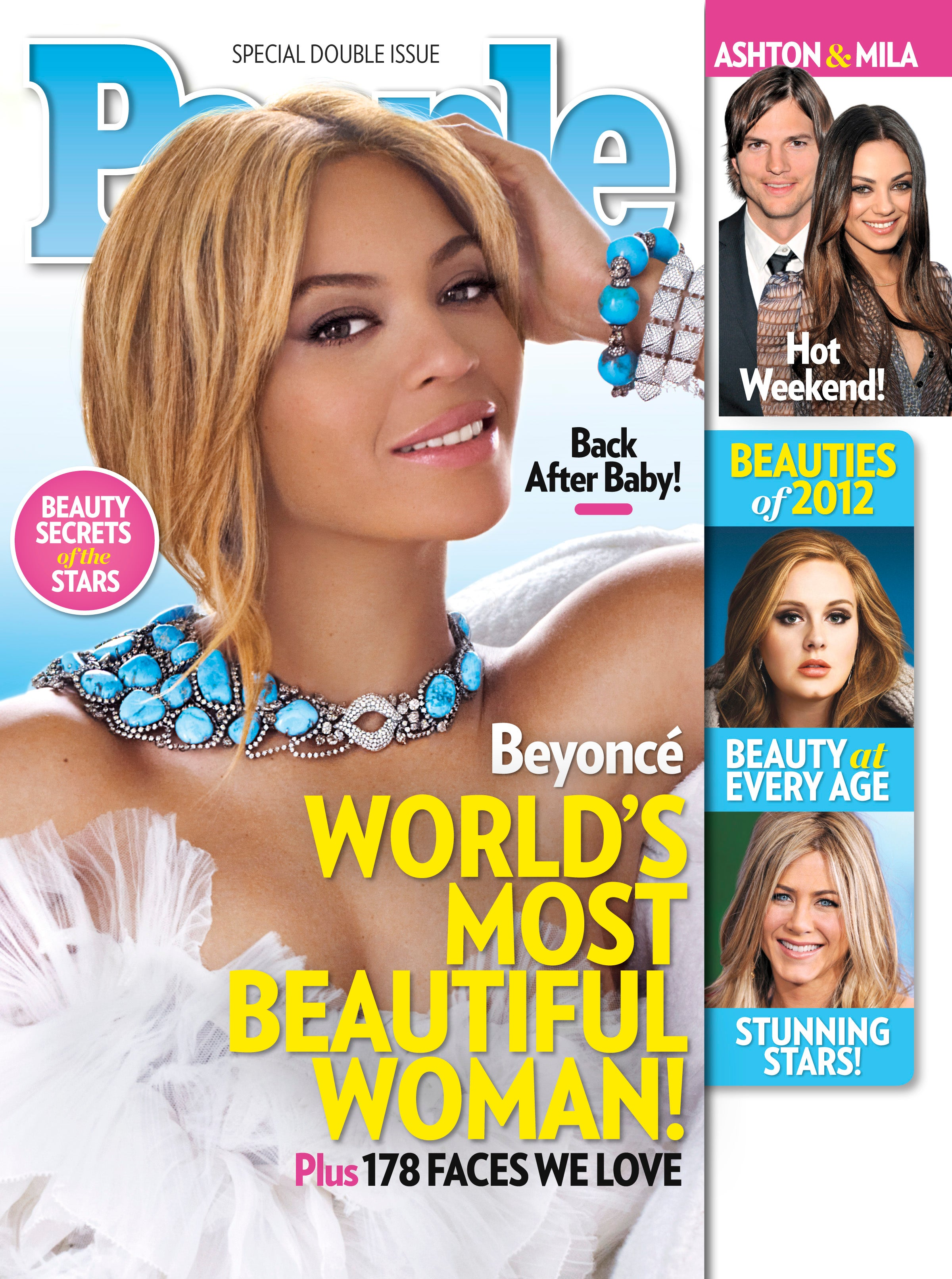 PEOPLE Names Beyoncé World's Most Beautiful Woman