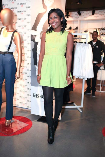 Street Style: H&M's 'Fashion Star' Party