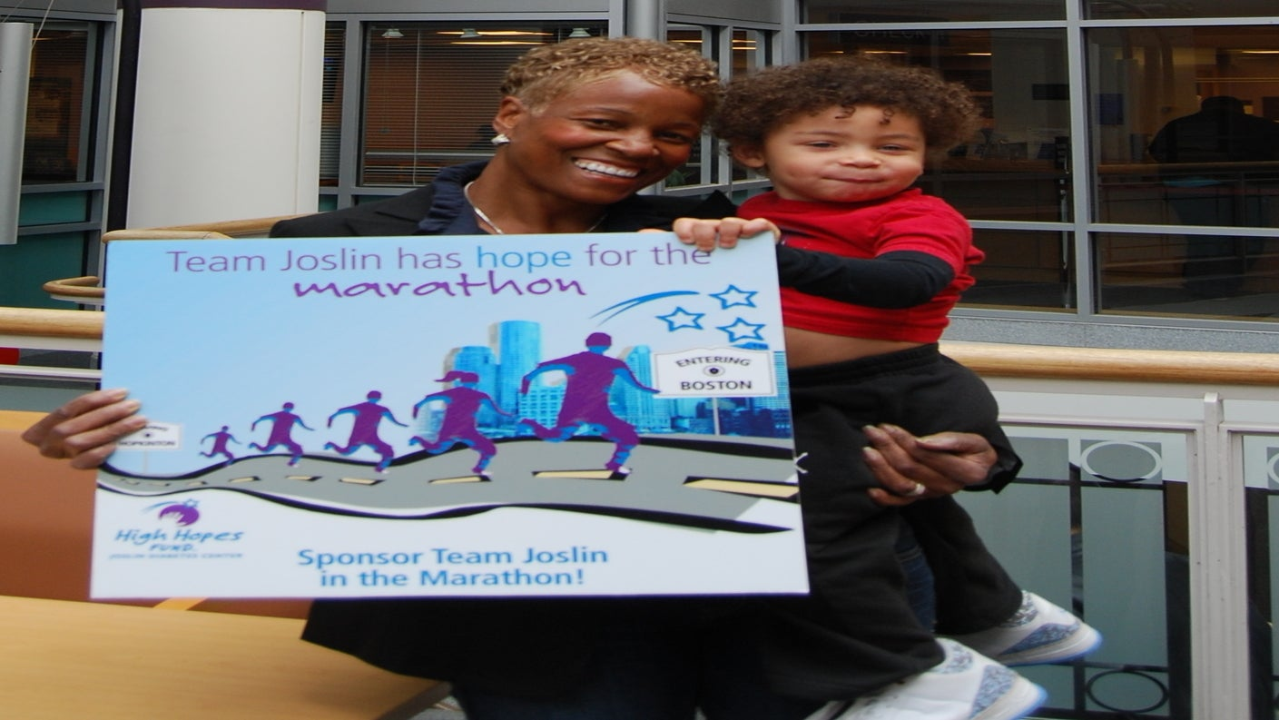 Get Lifted: Flora Allen-Hopson Runs to Cure Her Grandson's Type 1 Diabetes