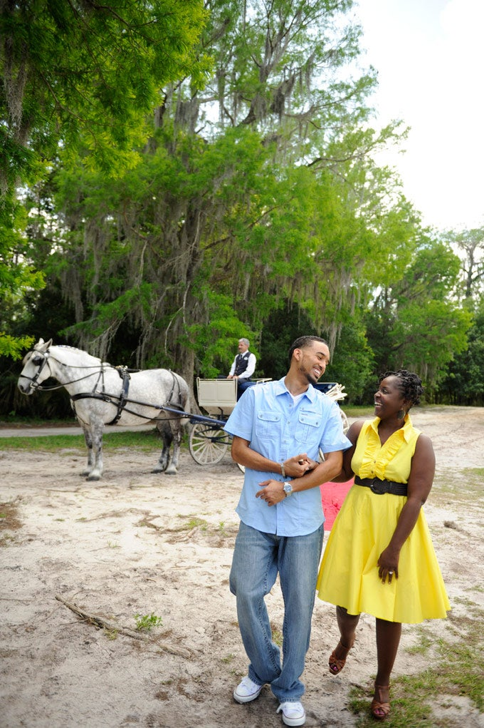 Storybook Wedding: DeCarlos and Astride's Proposal