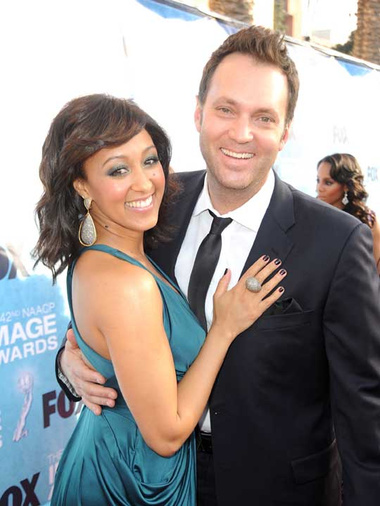 Happy First Wedding Anniversary Tamara Mowry-Housely and Adam Housley