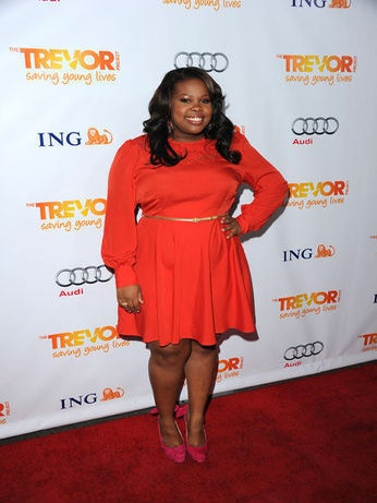 Amber Riley Collapses on Red Carpet