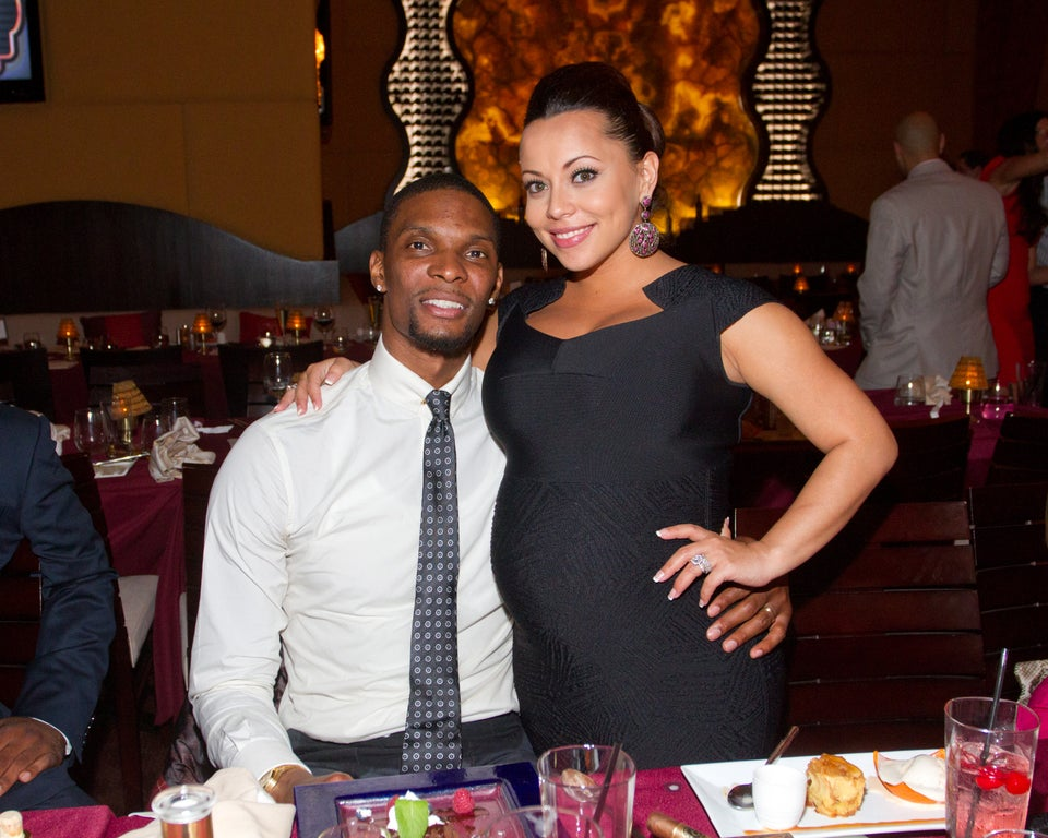 Chris and Adrienne Bosh Welcome Baby Boy