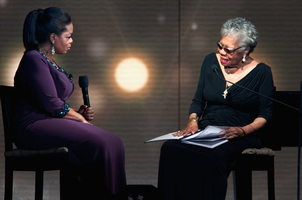 Oprah Shares A Lesson Dr. Maya Angelou Taught Her
