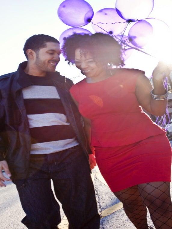 Just Engaged: Shara and Reginald