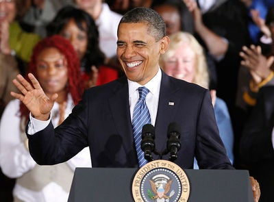 President Obama Signs a Mother's Day Proclamation