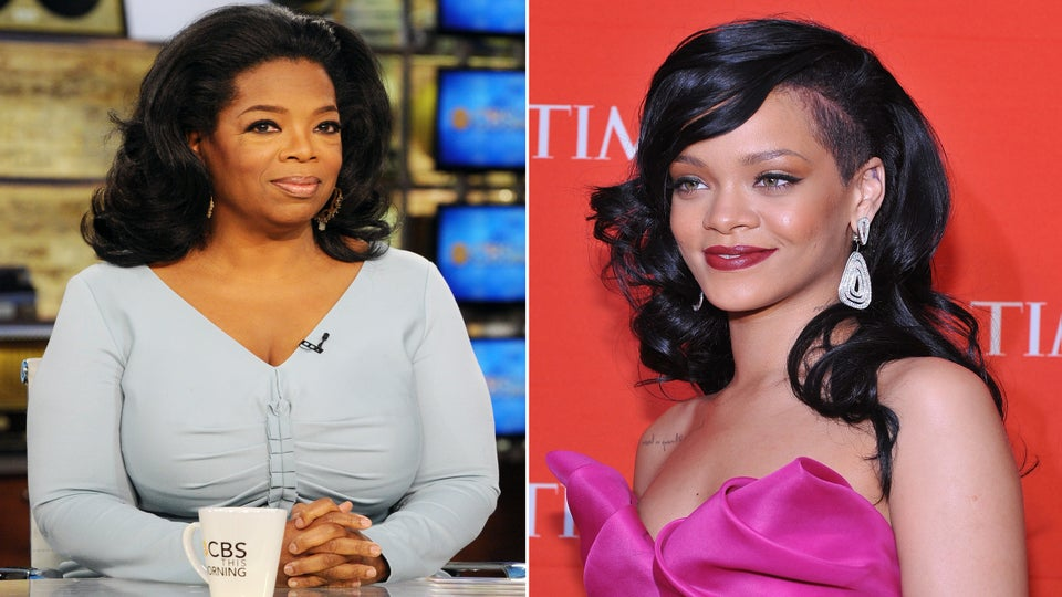 Oprah and Rihanna Top Forbes' 100 Most Powerful Celebrities List