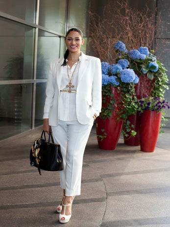 Street Style: The Studio Museum in Harlem Spring Luncheon