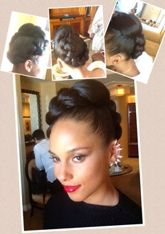 Get the Look: Alicia Keys' Braided Updo from the Billboard Music Awards