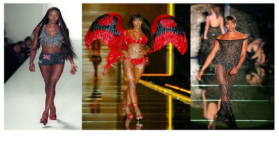 Catwalk Chronicles: Naomi Campbell