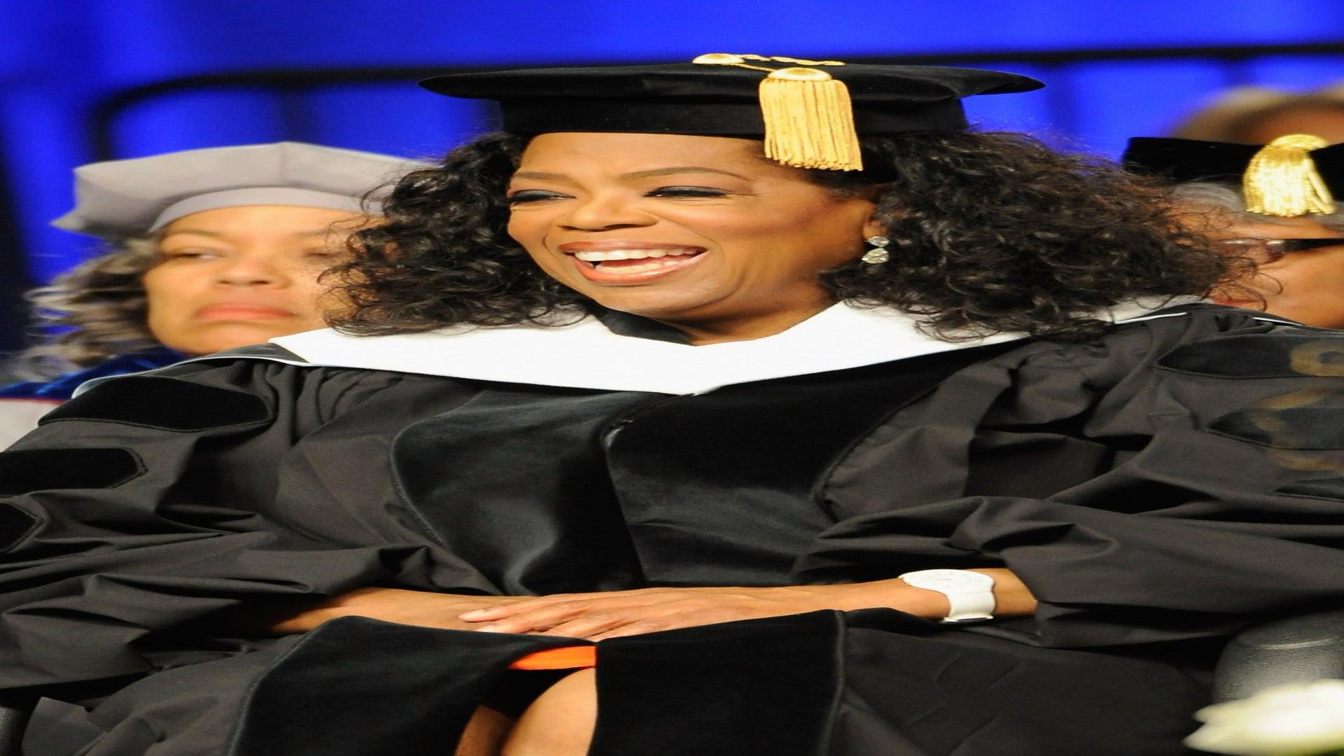 Oprah Shares Words of Wisdom with Spelman College Graduates