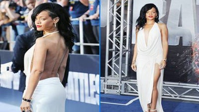 Rihanna's Hottest 'Battleship' Red Carpet Looks