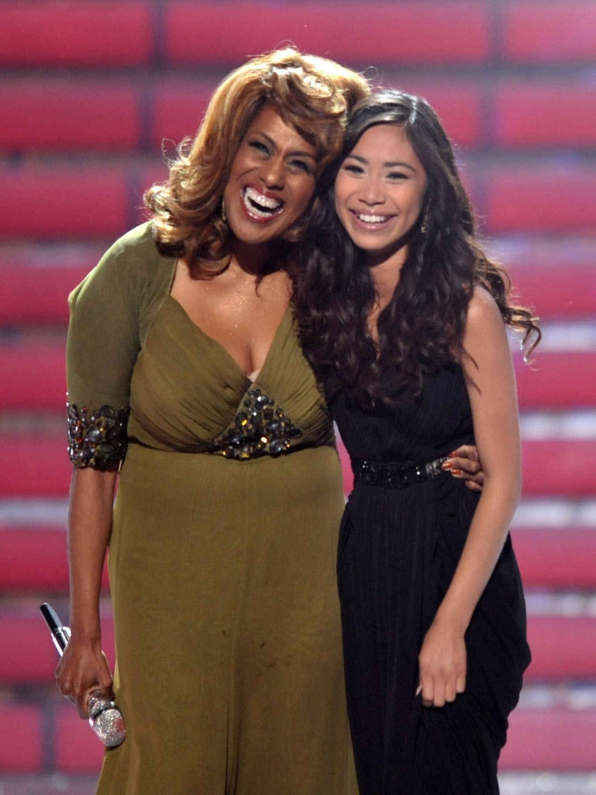 """Must-See: Jennifer Holliday and Jessica Sanchez Sing """"And I Am Telling You"""" on """"American Idol"""""""