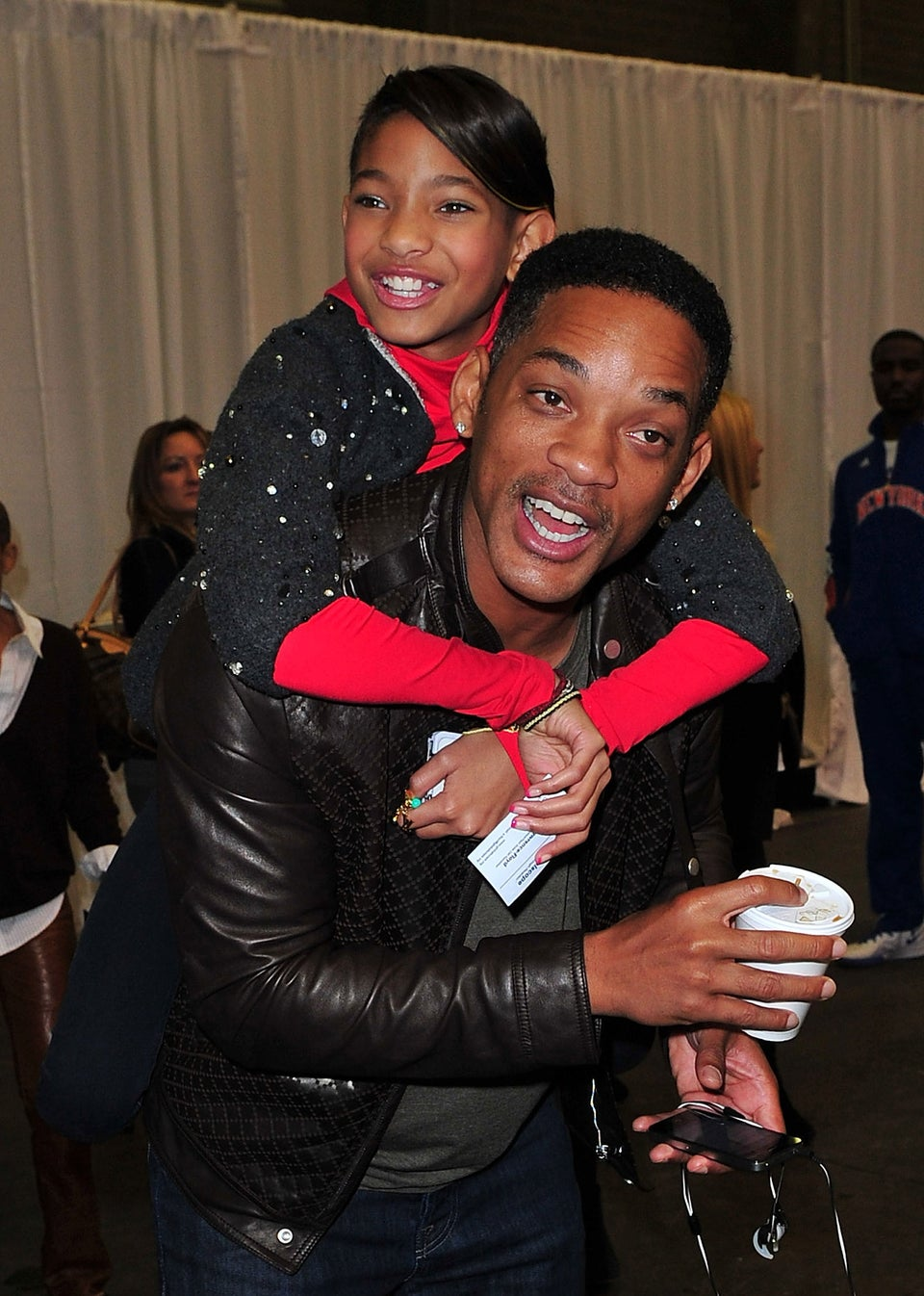 Will Smith Isn't Ready for Willow to Date