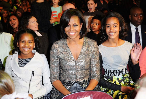 Michelle Obama Takes Her Daughters to See Beyoncé in Concert