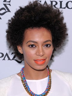 Exclusive: Solange Knowles Shares Her Natural Hair Secrets