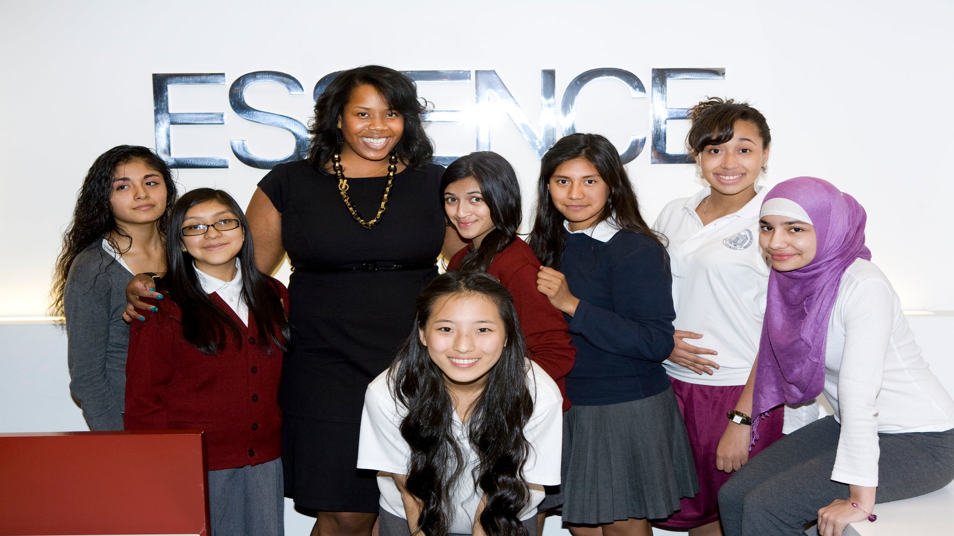 Students from The Young Women's Leadership School Spend the Day at ESSENCE