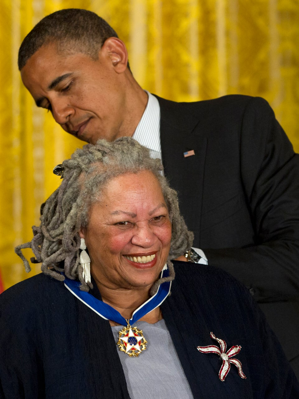 Coffee Talk: Toni Morrison Receives Medal of Freedom Award