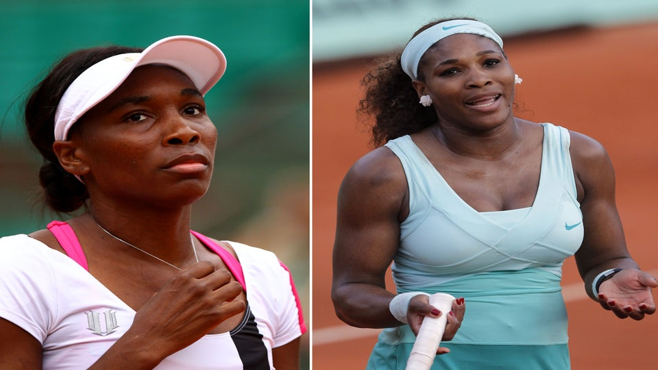 Venus and Serena Suffer Early Eliminations from French Open