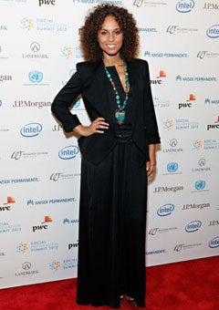 Alicia Keys Advocates for AIDS Awareness at Social Innovation Summit