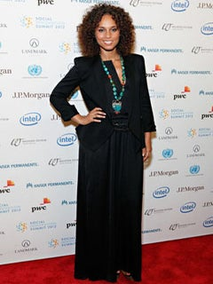 Alicia Keys Advocates for AIDS Awareness at Social Innovation Summit