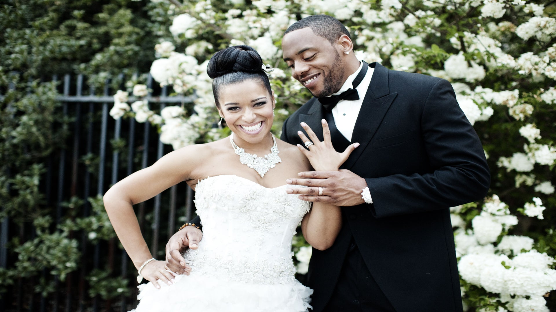 Exclusive: Minnesota Vikings Star Erin Henderson Shares Wedding Photos