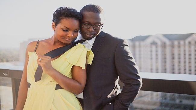 Just Engaged: Be'Anka and Dapo