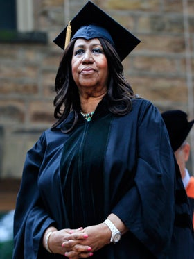 Aretha Franklin Earns Honorary Doctorate of Music from Princeton