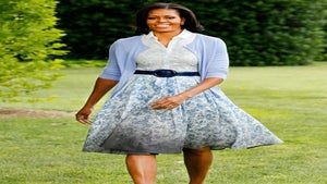 Michelle Obama Admits Daughters Inspired 'American Grown' Design