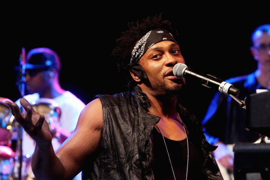 D'Angelo Performs Surprise Show at Bonnaroo Festival