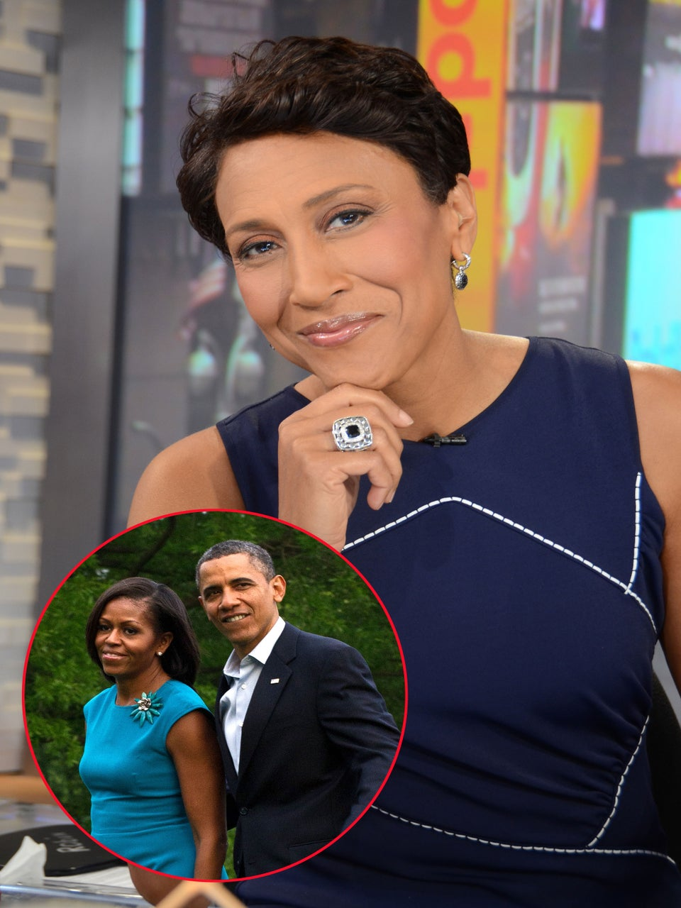 Mr. & Mrs. Obama Reach Out to Robin Roberts