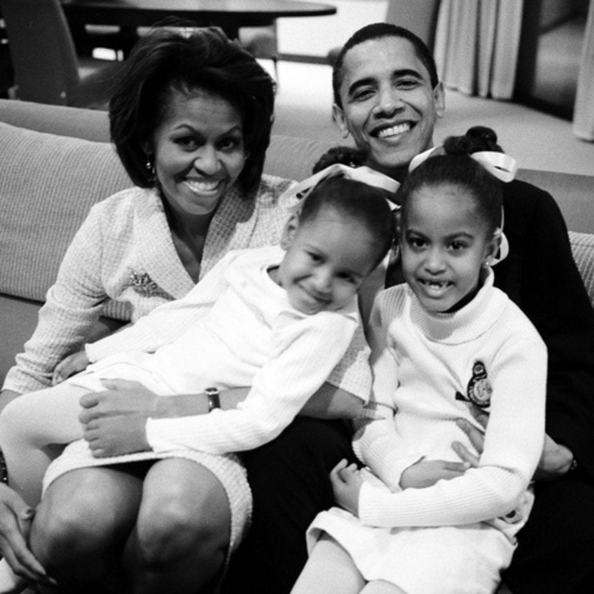 The First Lady Creates an Online Tribute to the President and Her Father