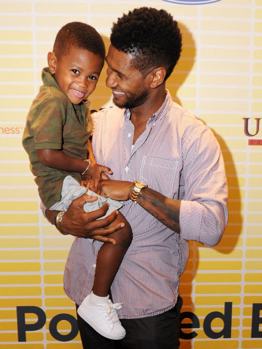 Usher Opens Up About His Kids and Talks Father-Son Bonding