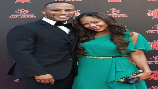 Meagan Good and DeVon Franklin Jump the Broom