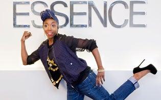 Estelle Guest Edits ESSENCE.com, Meets the Editors