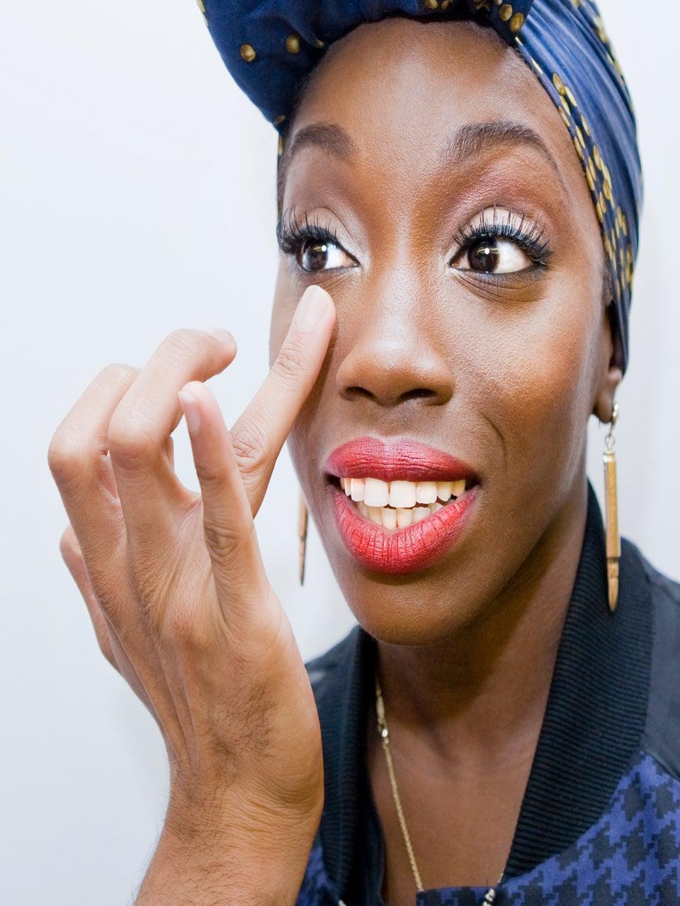 Must-See: Estelle Reveals Her Secret Beauty Must-Haves